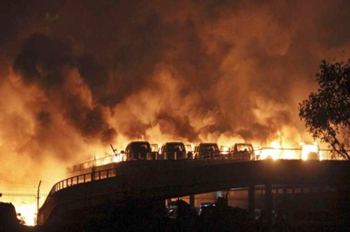 One killed in China chemical plant blast