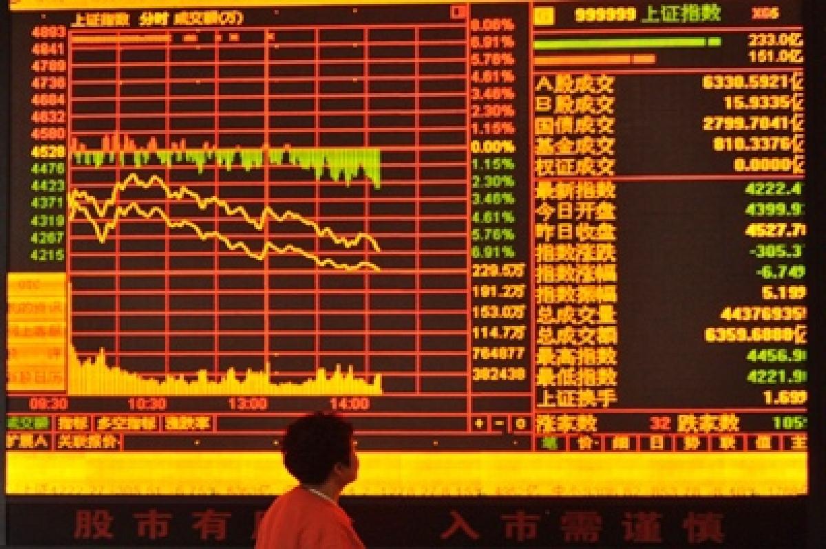 China stocks plunge