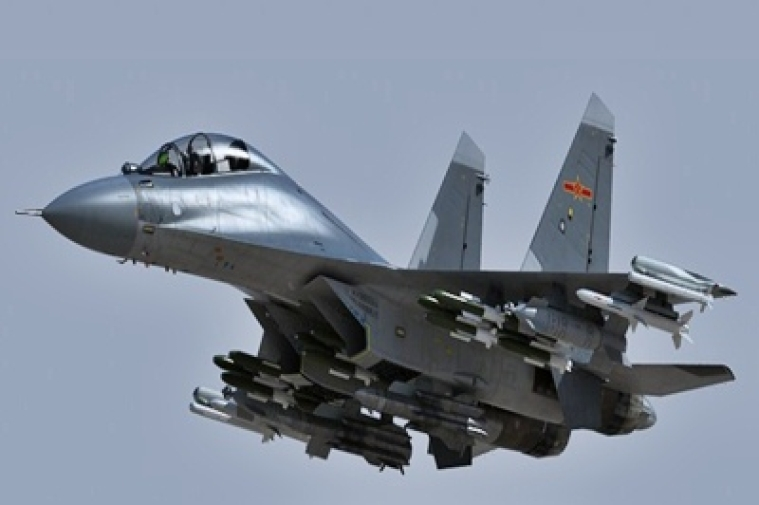Chinese J-16 fighter jet might soon be in service