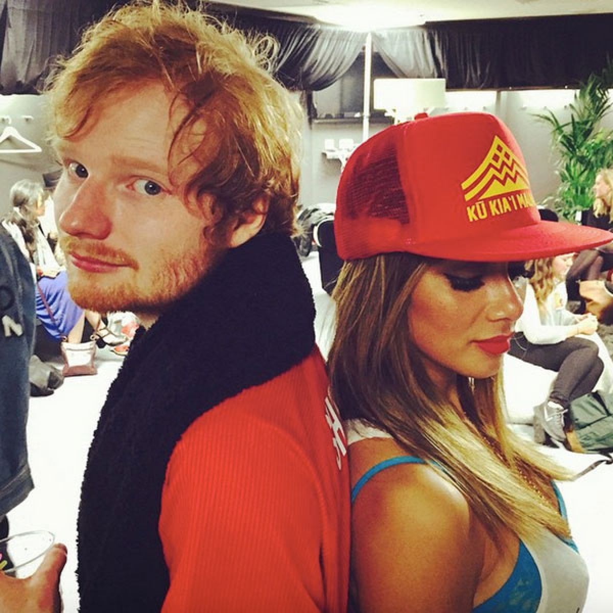 Ed Sheeran dating Nicole Scherzinger?