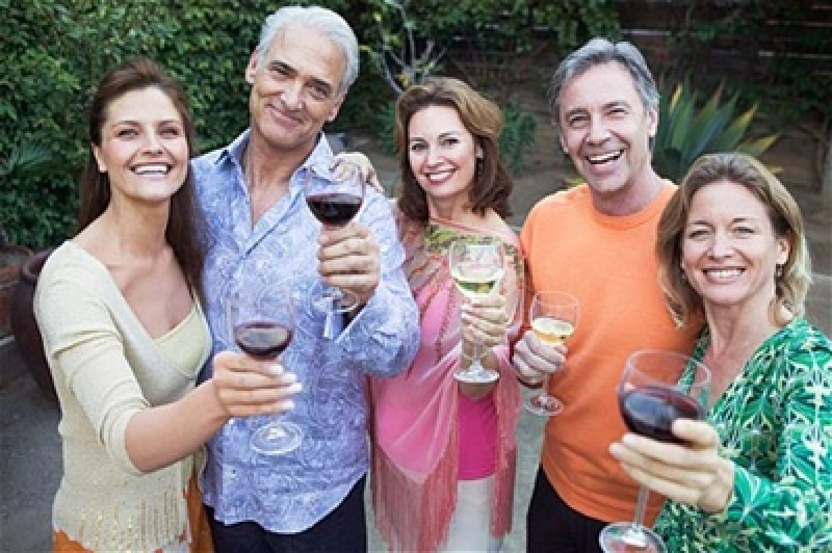 Wealthy elderly turning into risky alcoholics