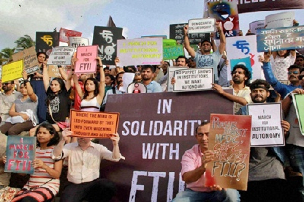 Hope FTII students won't spoil country's image at IFFI: Centre