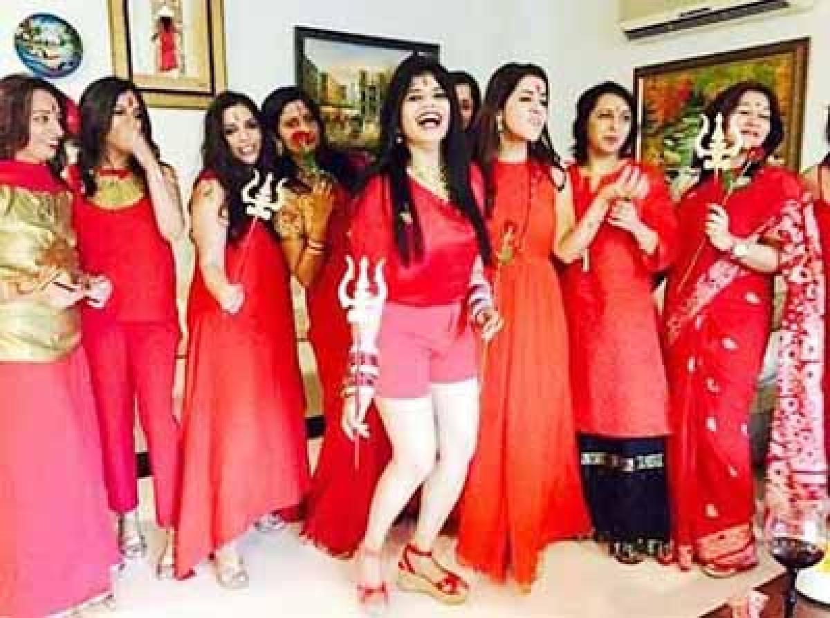 Radhe Maa-themed  kitty party goes viral