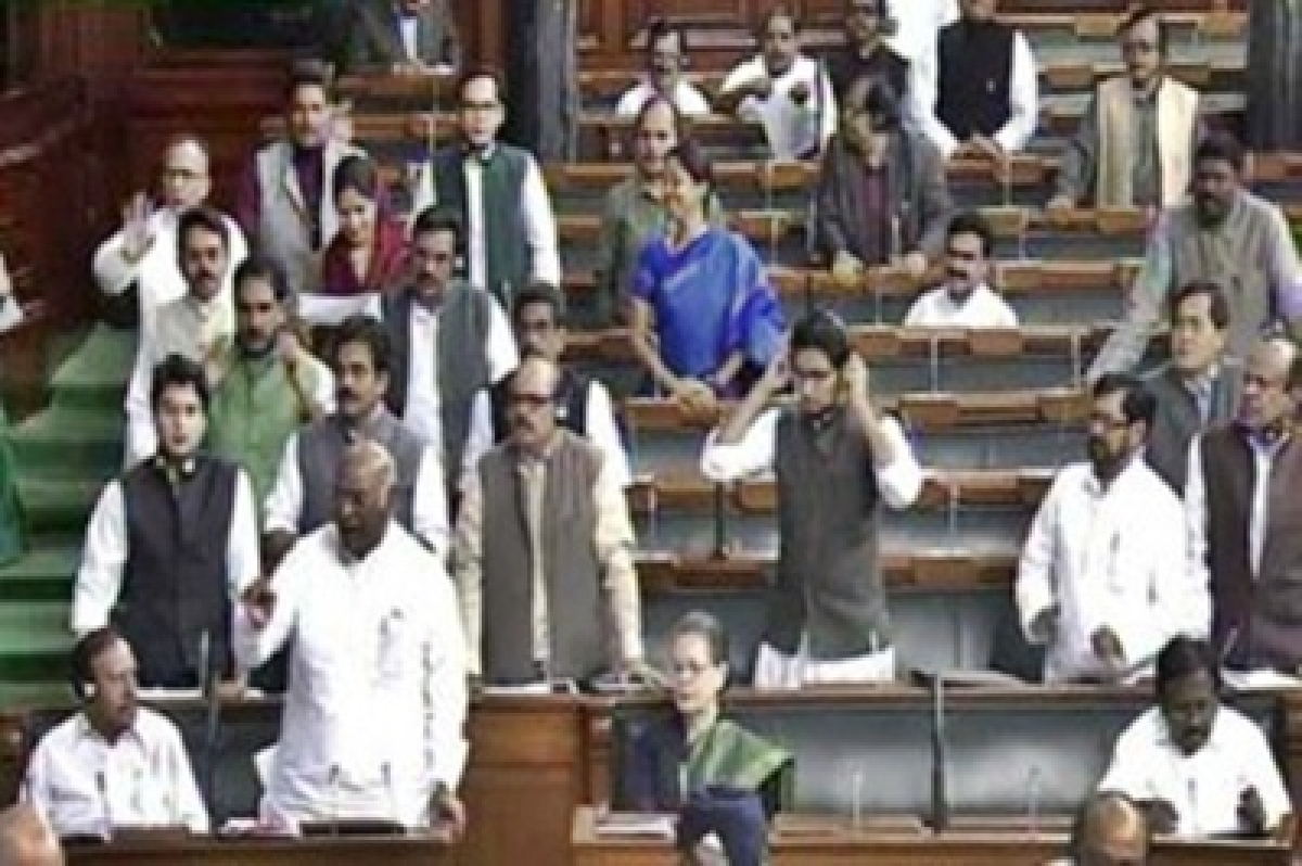 Lok Sabha adjourned till noon