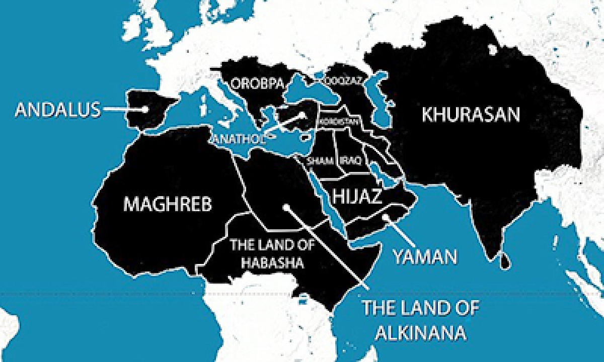 A seven-step programme, dating back almost 20 years, includes the US being provoked into declaring war on the Islamic world between 2000-03 and an uprising against Arab rulers between 2010 and 2013. The plan also includes taking control of Middle East, North Africa and parts of Europe.