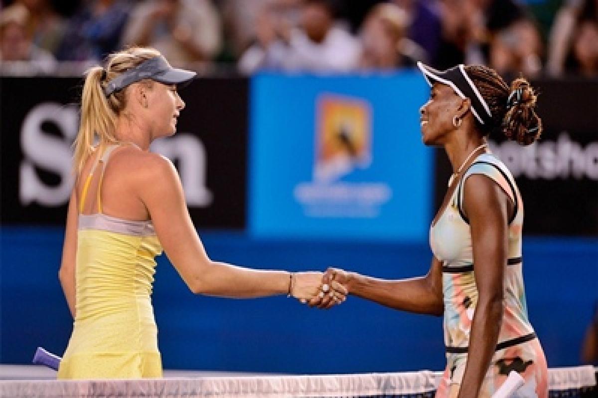 Maria Sharapova,Venus Williamson pull out of Cincinnati Masters
