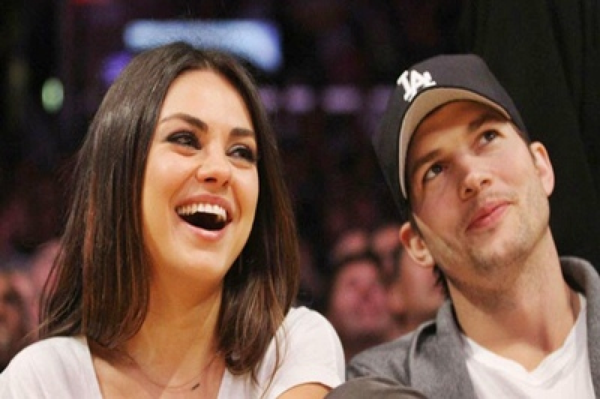 Mila Kunis receives vibrating birthday gift from hubby Ashton Kutcher
