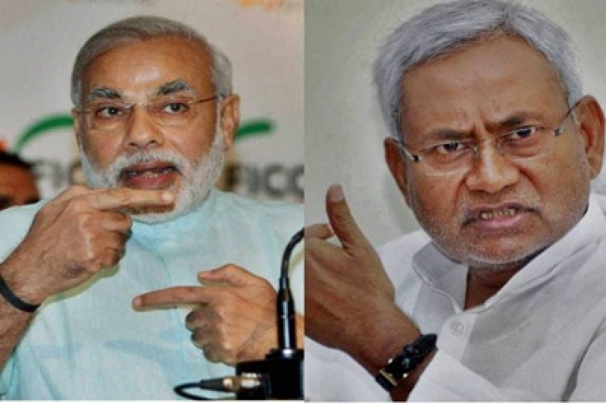 Nitish targets Modi, launches 'take back words' campaign