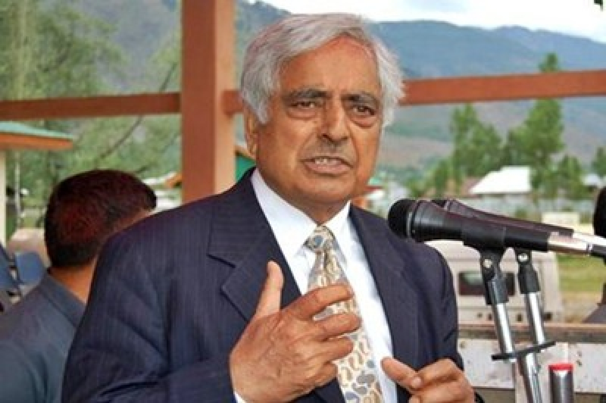 Mufti Muhammad Sayeed still critical but stable: AIIMS