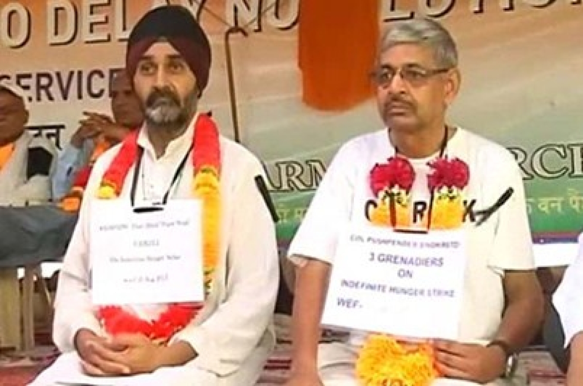 OROP row: 'Nothing can be more insulting', say ex-servicemen