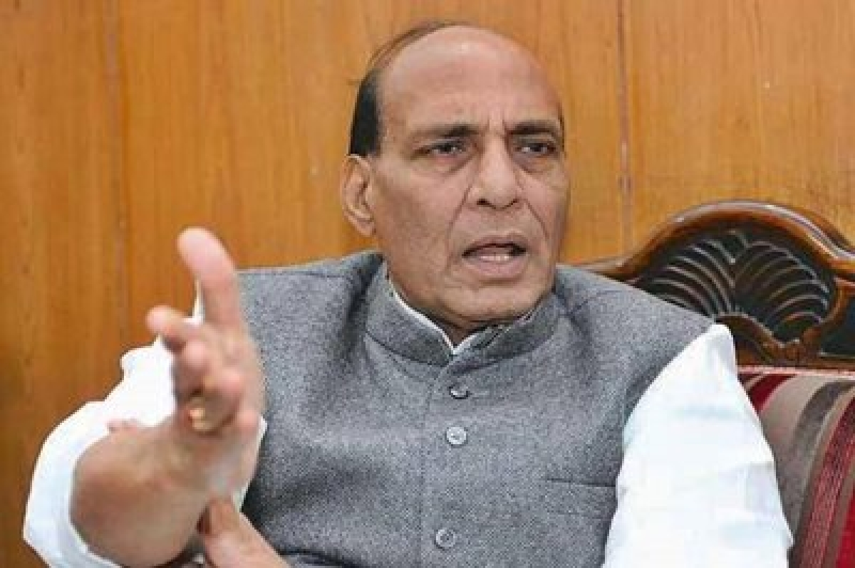 RSS does not seek report card from BJP: Rajnath