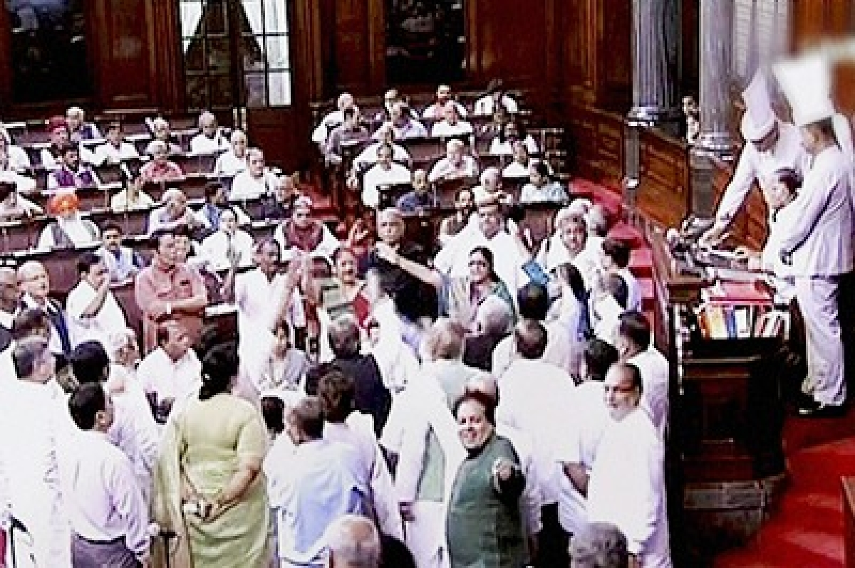 Congress moves adjournment motion in both Houses