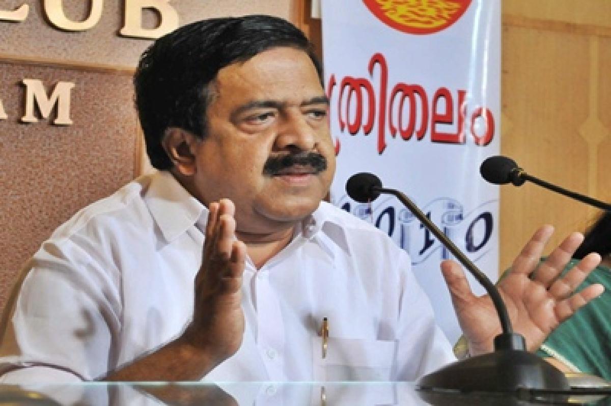 Stern action against political violence: Ramesh Chennithala