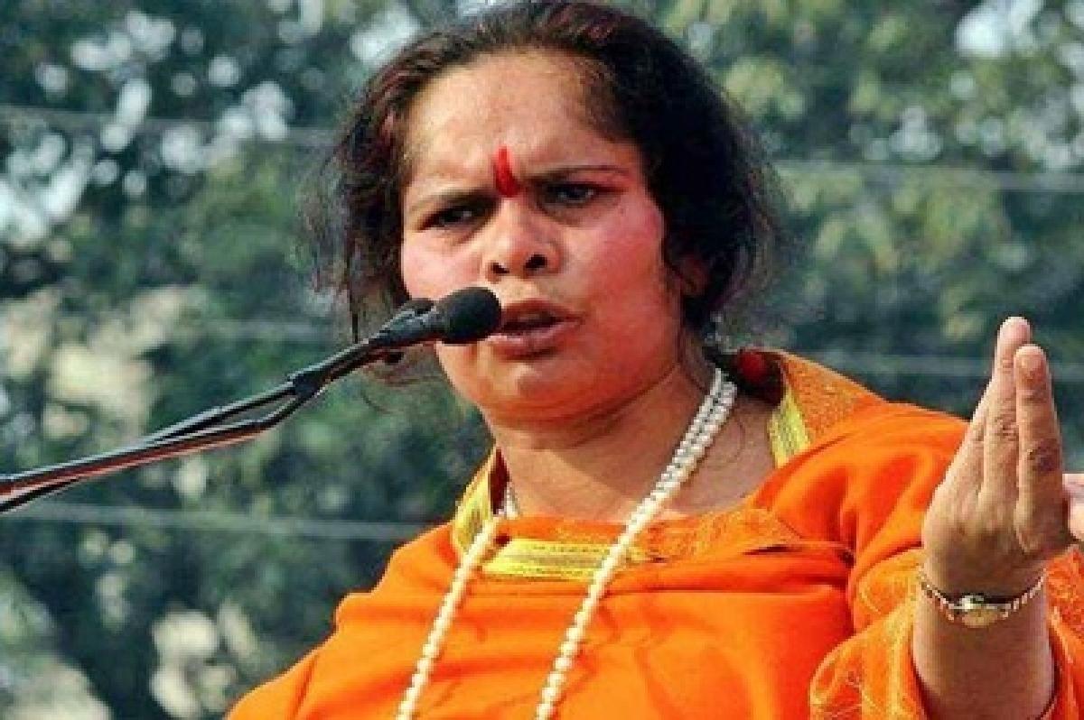 Hindutva leader Sadhvi Prachi not allowed into Aligarh