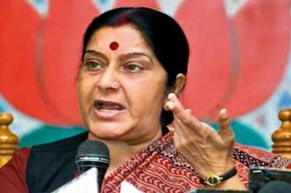 Not at fault in Lalit Modi case: Sushma  Swaraj