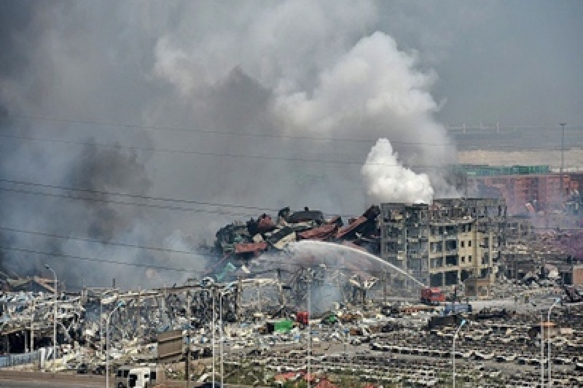 China denies presence of nerve gas after Tianjin blasts