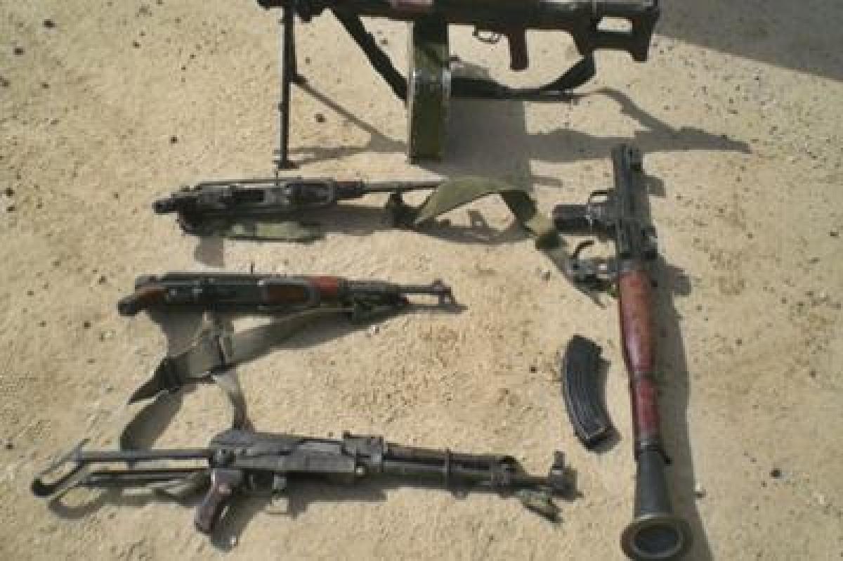 Rifles seized in Mizoram