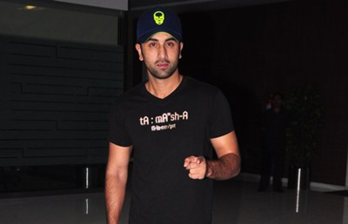 Ranbir Kapoor tries cryotherapy for first time