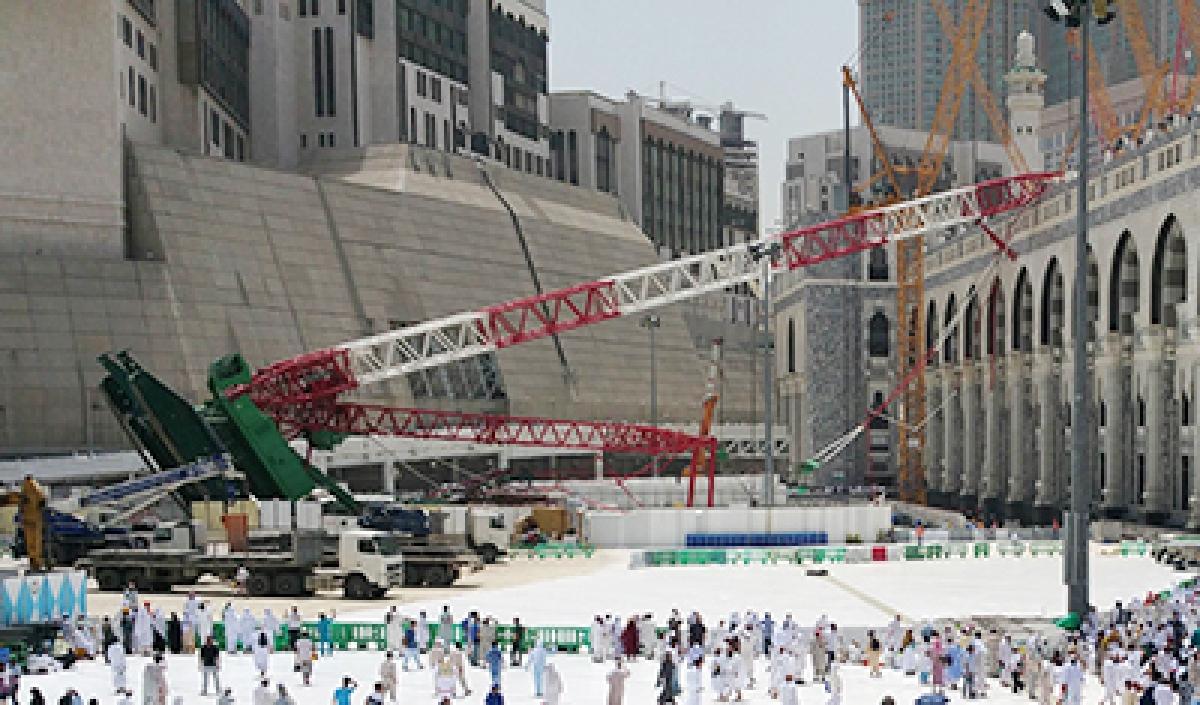 Haj to go ahead despite crane tragedy in Mecca