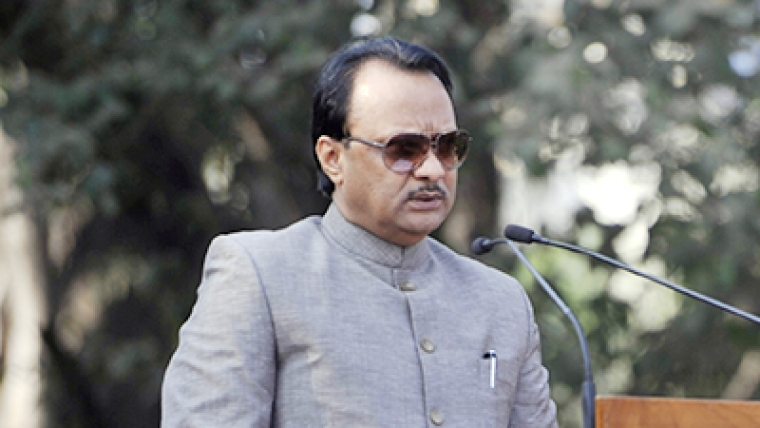 Senior NCP leader and Former Deputy Chief Minister Ajit Pawar