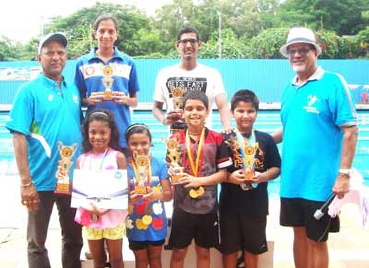 Veerdhawal Khade, Avantika Chavan bag top honours in GMAAA Swimming meet