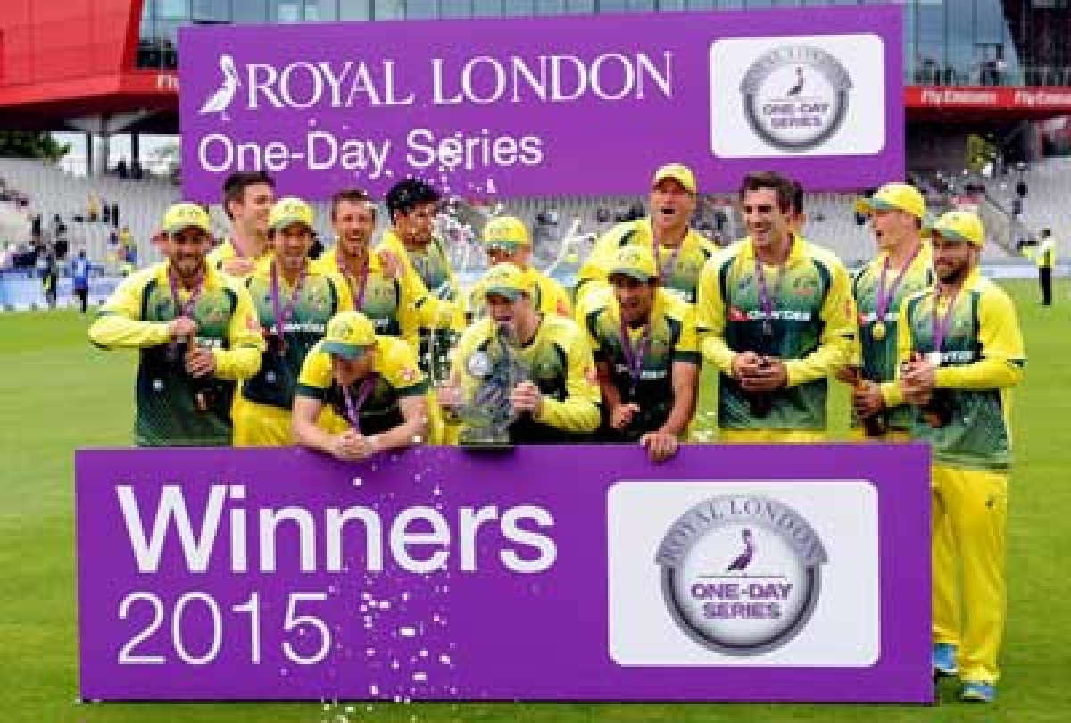 Australia wins consolation ODI prize after Ashes loss