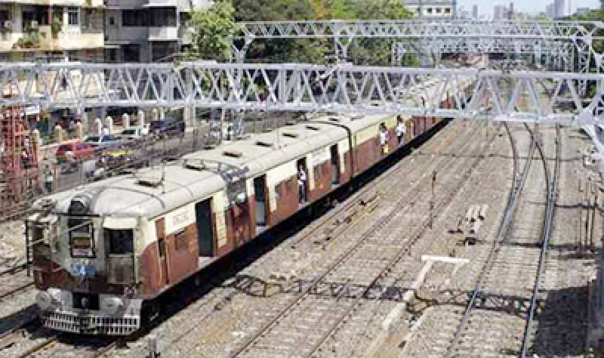 Point No. 102 derailed  harbour line on Sept 14