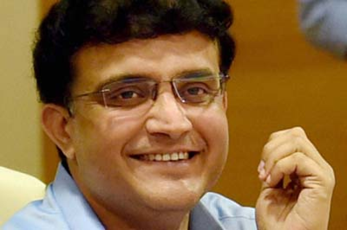 New Delhi: File Photo- Former cricket captain Sourav Ganguly named new Cricket Association of Bengal  President by West Bengal Chief Minister Mamata Banerjee after a meeting with CAB officials in Kolkata on Thursday.  PTI Photo(PTI9_24_2015_000221B)