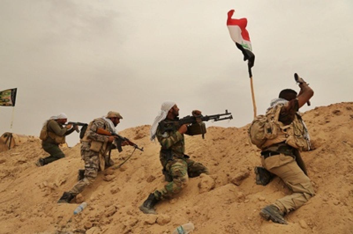 Iraqi forces push deeper in IS-held Ramadi