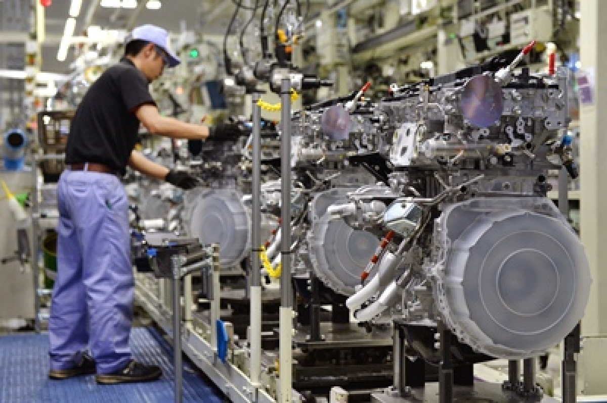 Japan's industrial output in August down