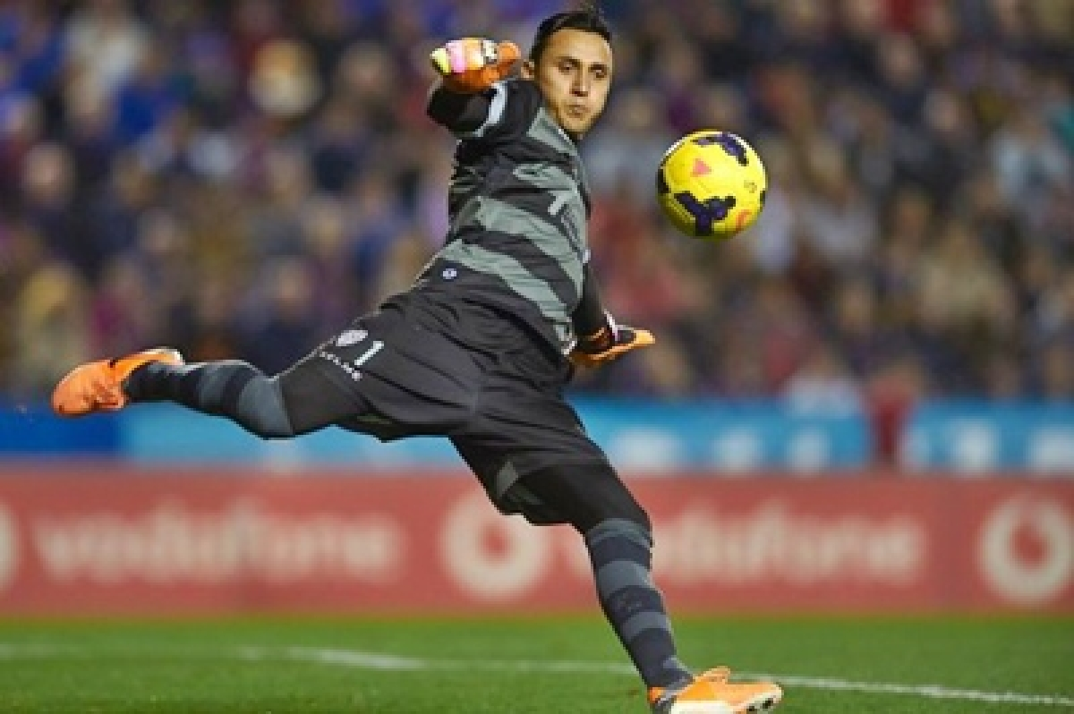 Costa Rican Keylor Navas happy to be with Spain's Real Madrid