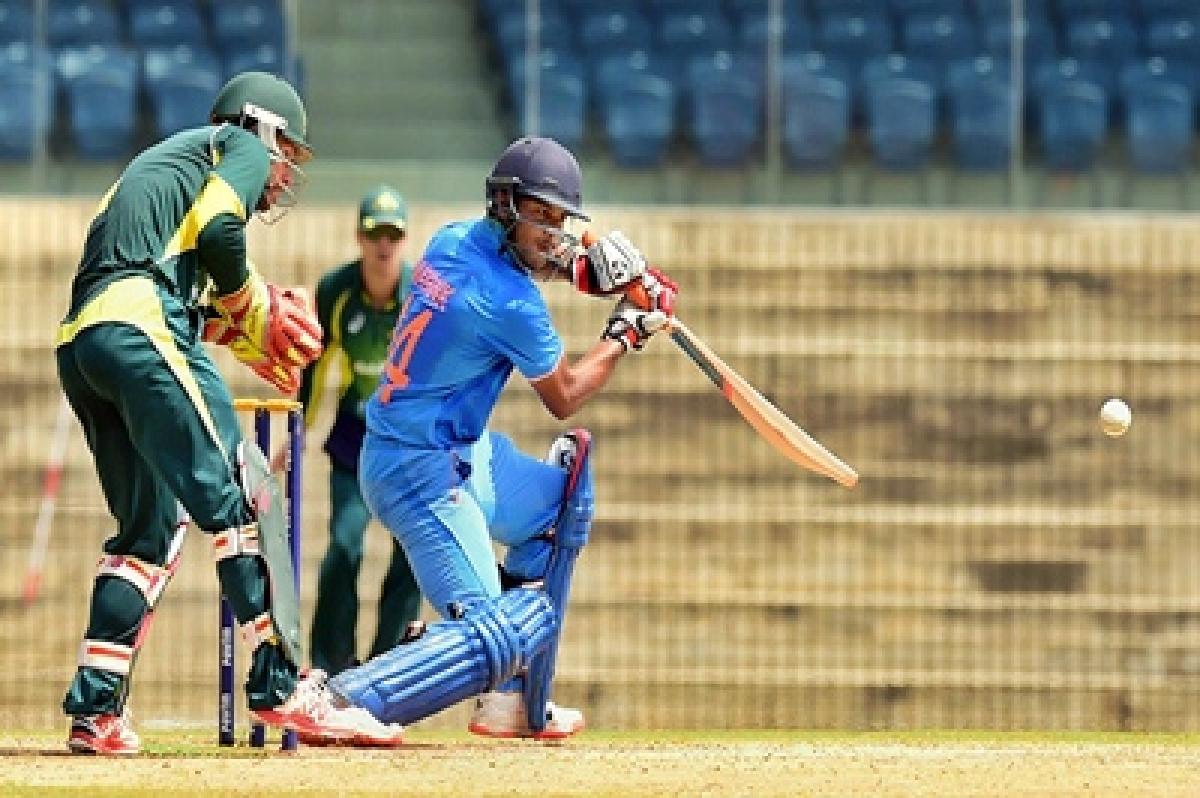 Mayank Agarwal helps India A chase down imposing SA total