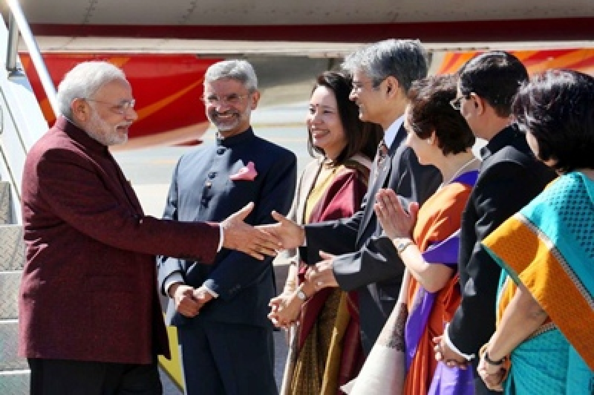 Narendra Modi arrives in US; packed schedule ahead of him