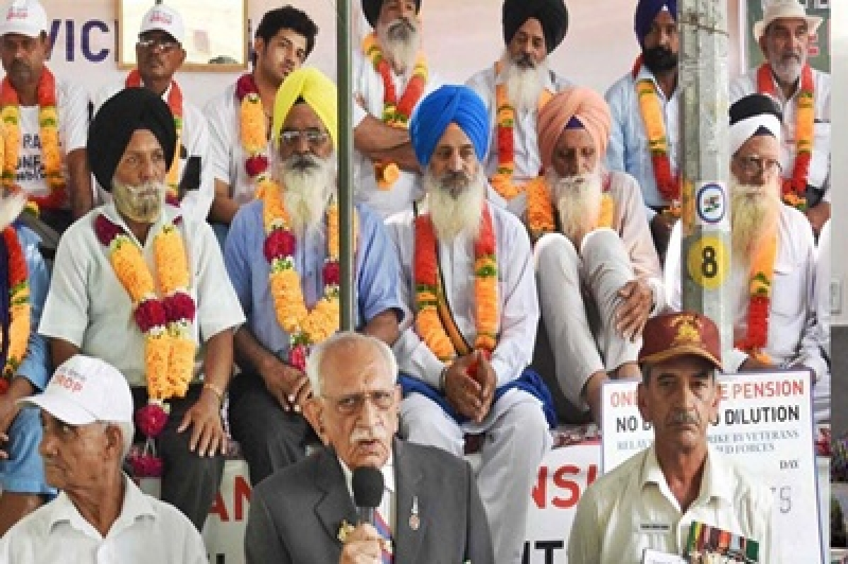 OROP: Ex-servicemen continue with relay hunger strike