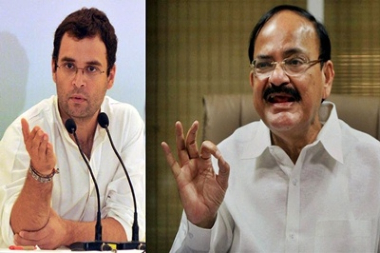 Rahul is taking PM's name to remain in news: Venkaiah Naidu
