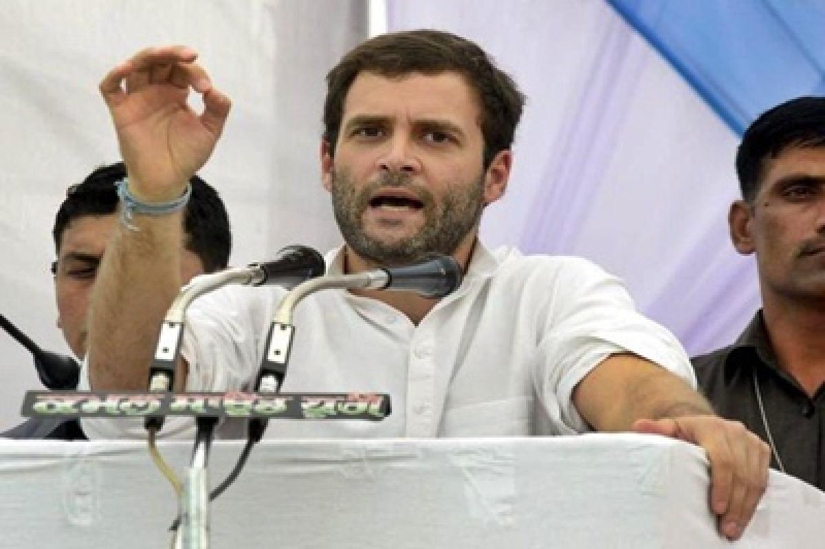 Rahul Gandhi slams Narendra Modi for Punjab farmers plight