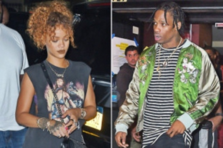 Rihanna, Travis Scott spotted together in Hollywood