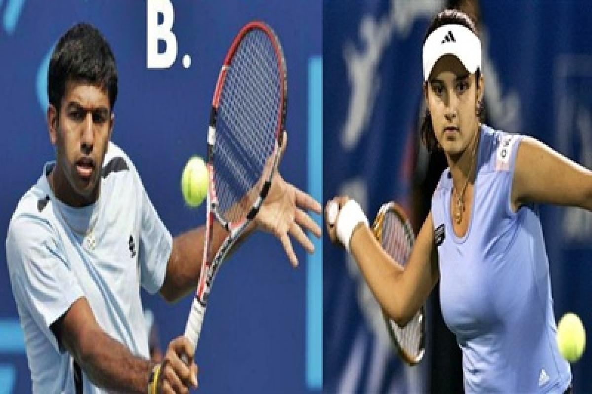 Sania Mirza, Rohan Bopanna advance in US Open
