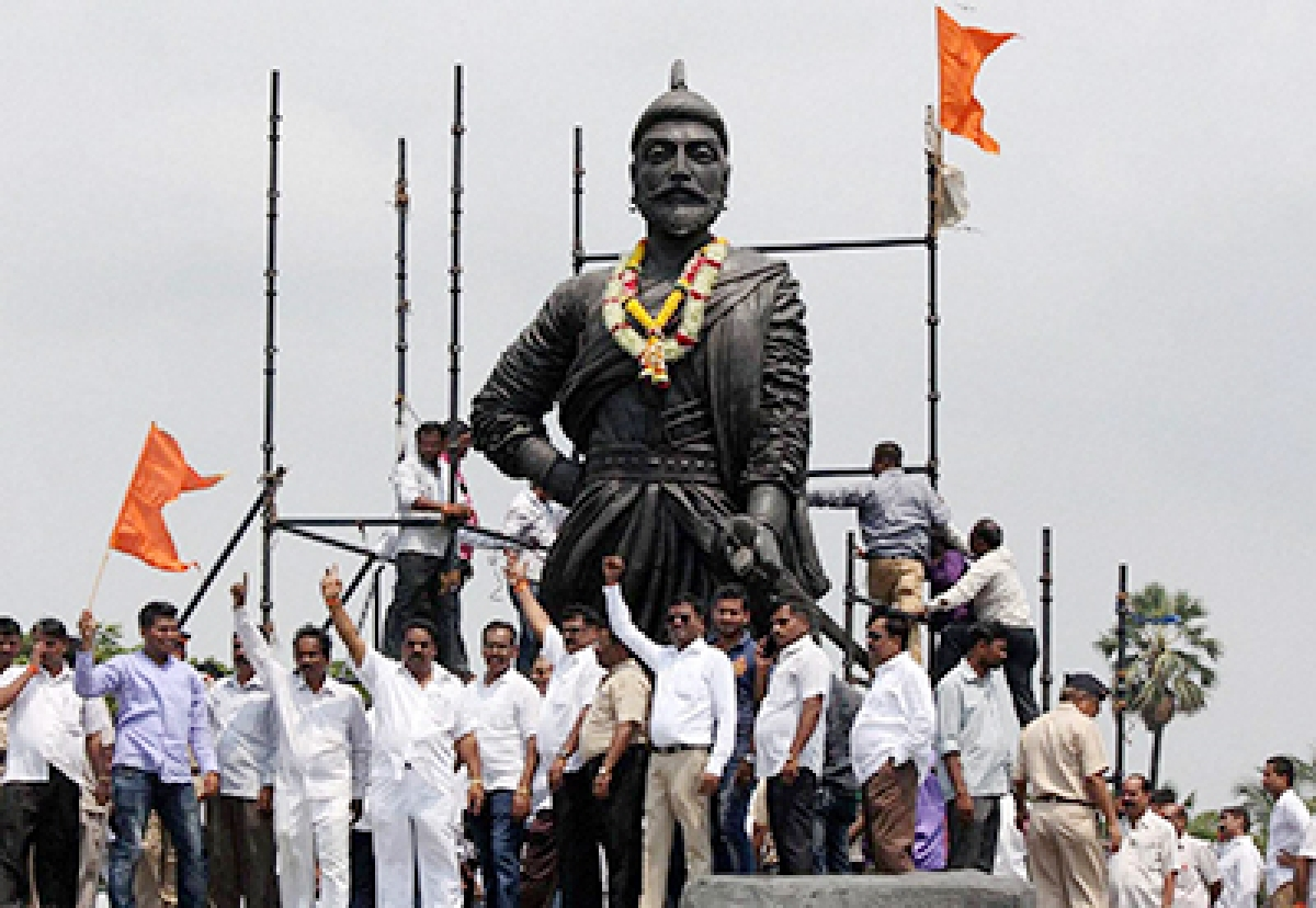 Opposition questions govt's move to 'reduce' height of Shivaji statue in Arabian Sea