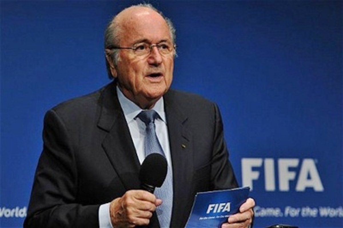 Sepp Blatter before FIFA judges