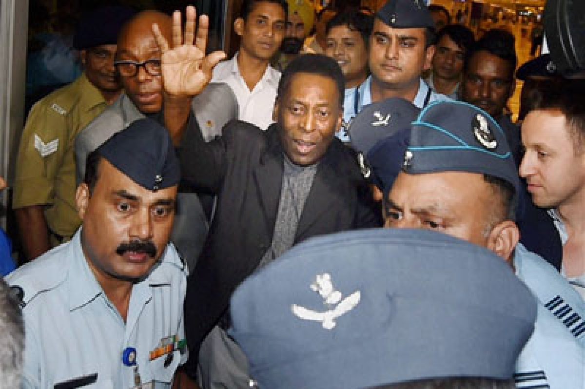 Capital gives warmwelcome to Pele