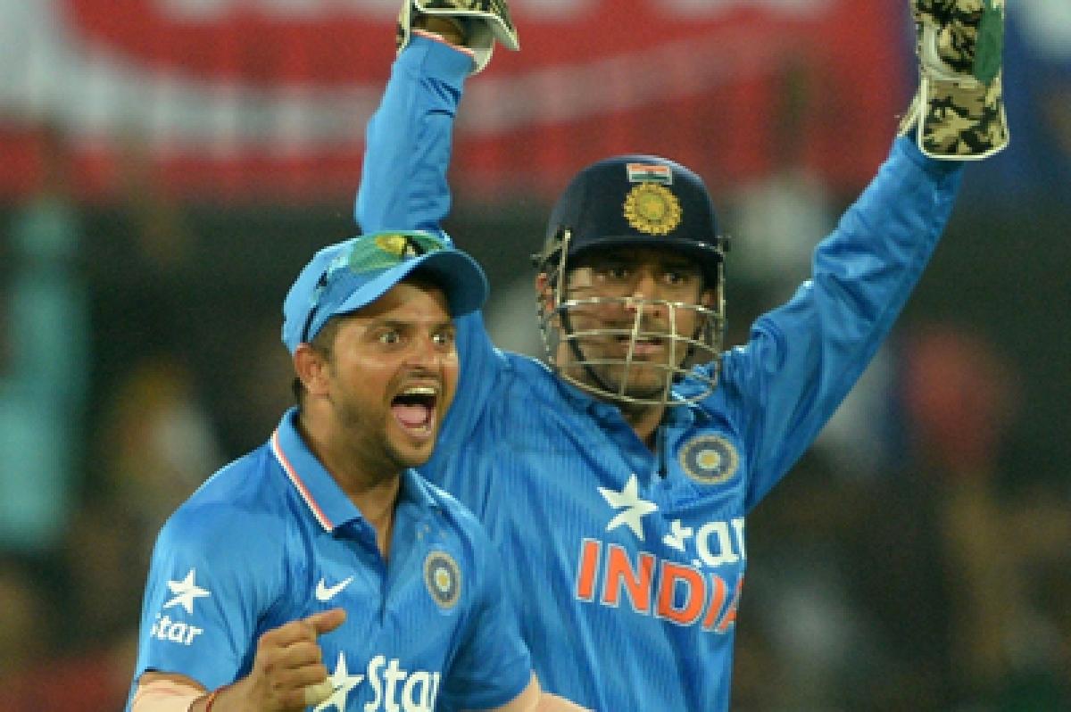 Suresh Raina hails MS Dhoni as India's greatest captain