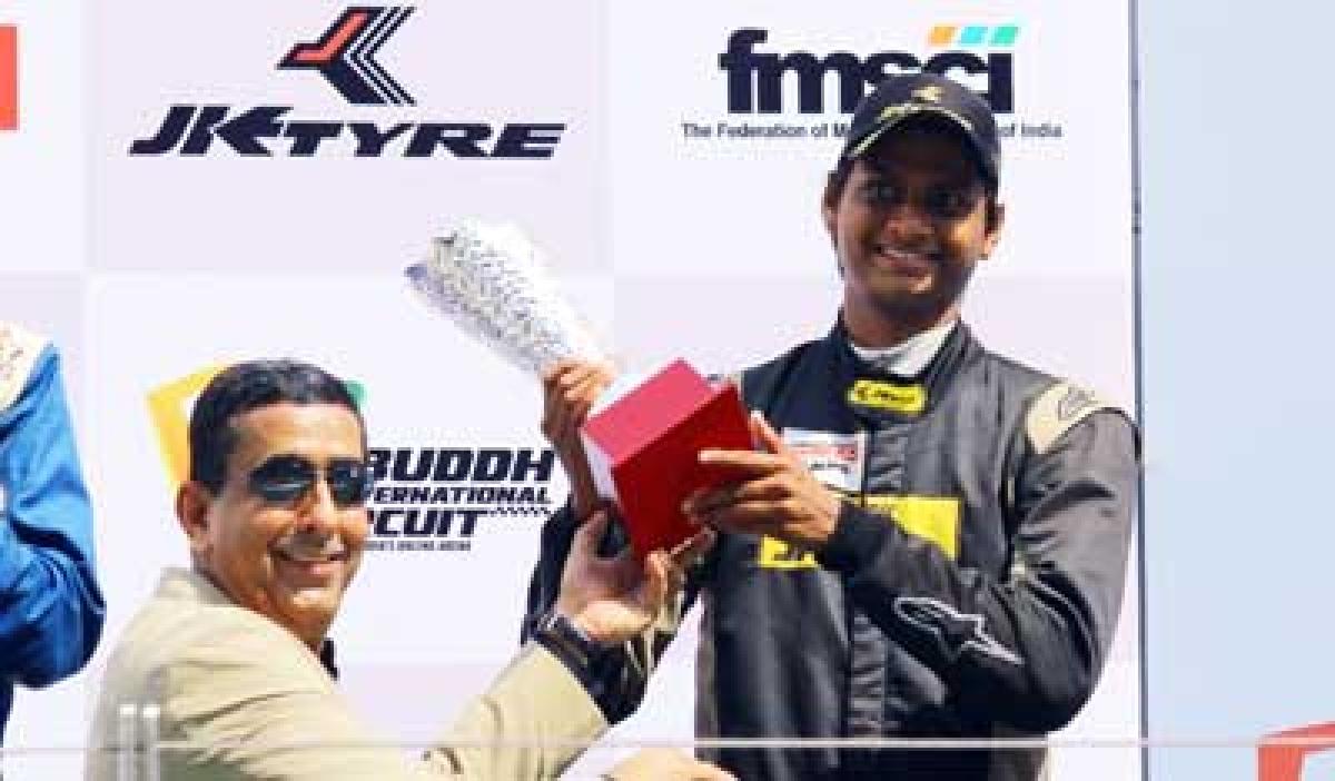 Motor racing: Vishnu, Constantino win