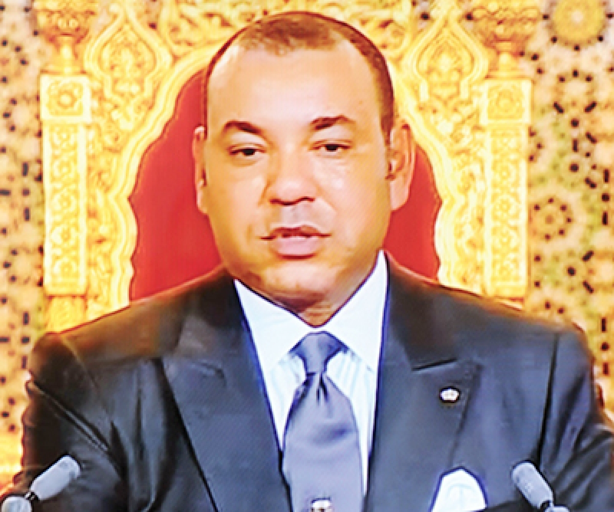 IAFS: Morocco king arrives in Delhi for summit