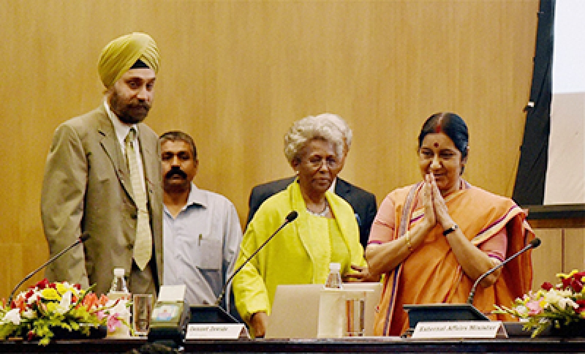 Sushma takes up India, Africa case for UN seat