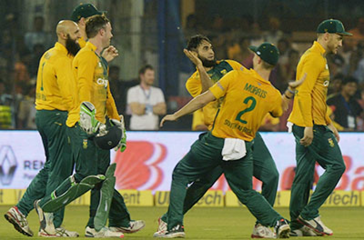 Proteas clinch T20 series