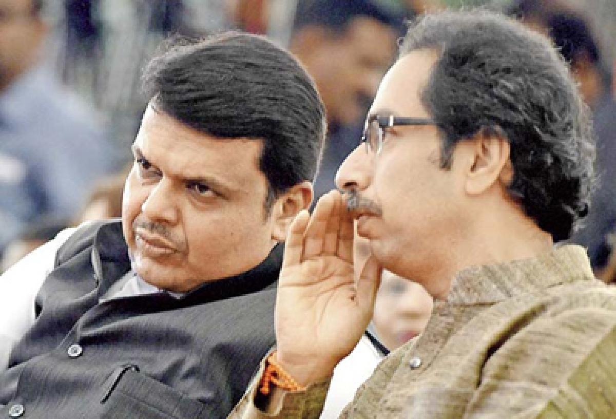 Cabinet rejig: Chief Minister Devendra Fadnavis calls on Uddhav Thackeray