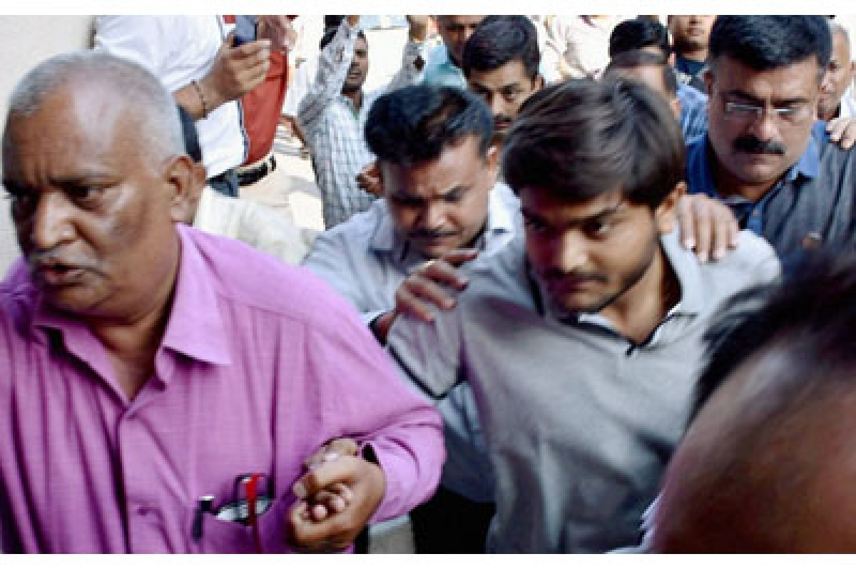 Hardik Patel denied bail in sedition case by Surat court