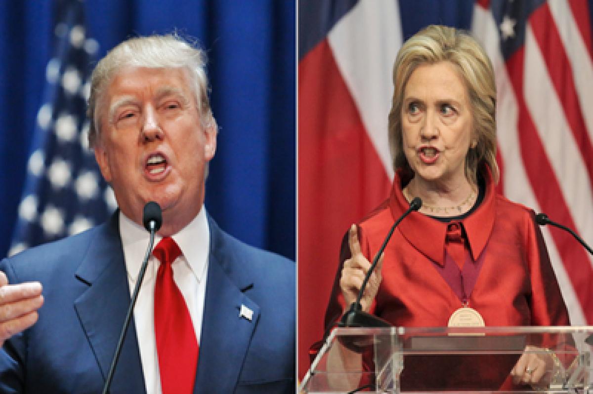 Looks Like Donald Trump v/s Hillary Clinton