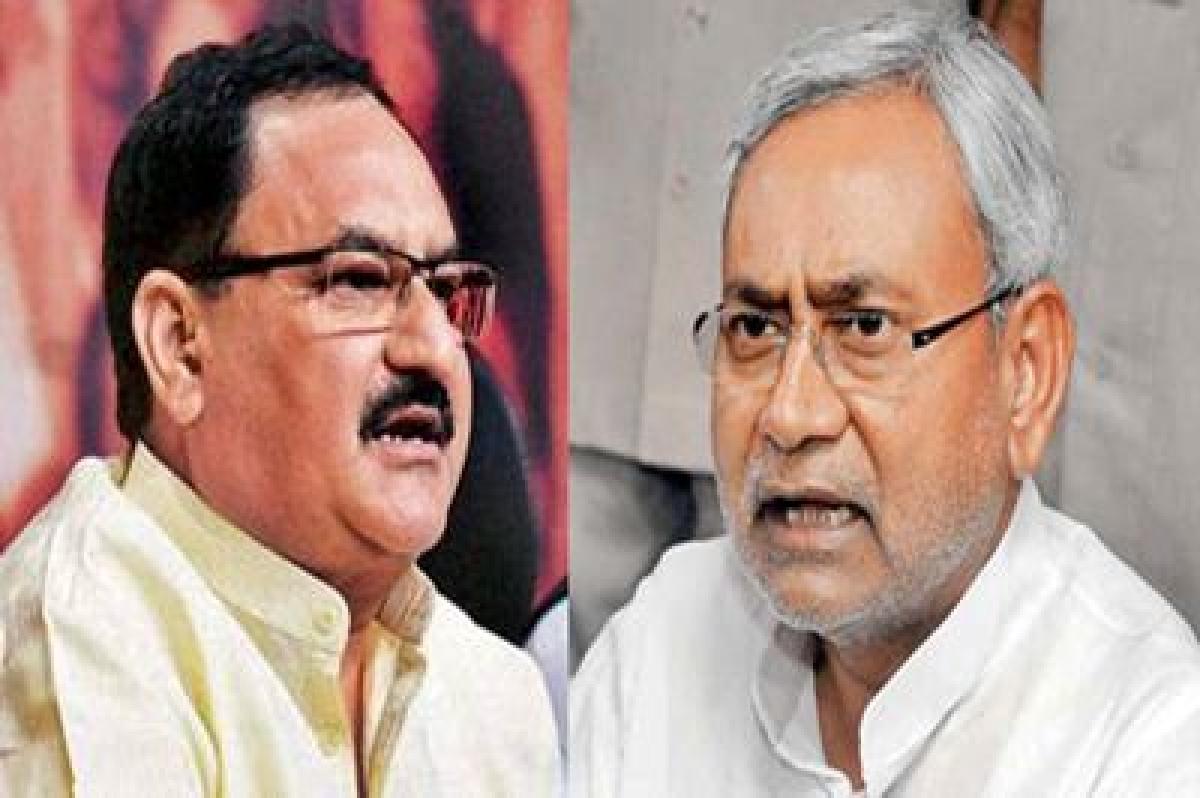 JP Nadda trashes Nitish Kumar 'hollow claim' in Health sector